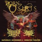 Born of Osiris – Angel or Alien Tour